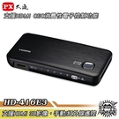 PX大通 HD-416E3 四進一出HDMI切換器 支援HDMI 3D影像 手動/紅外線遙控【Sound Amazing】