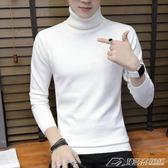 男士高領毛衣打底衫秋冬新款寬鬆毛衣男韓版潮流個性針織衫  潮流前線