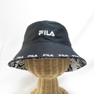 FILA 寬帽簷 漁夫帽 運動帽 HTV1206BK 黑色【iSport代購】