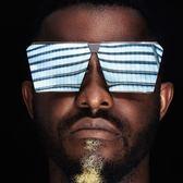 韓版創意新款夏季男女墨鏡個性太陽眼鏡大框瘦臉時尚潮流墨鏡前衛【一條街】