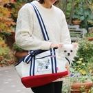 【PET PARADISE 寵物精品】Gaspard et Lisa 透氣帆布單肩外出包【大1.5~4kg】  寵物外出包