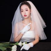 2019新款新娘結婚紗頭紗寫真旅拍自拍頭紗 全館免運