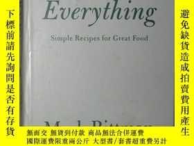二手書博民逛書店原版罕見How To Cook Everything: Simp