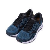 MIZUNO WAVE RIDER WAVEKNIT 3 慢跑鞋 藍黑黃 J1GC192912 男鞋