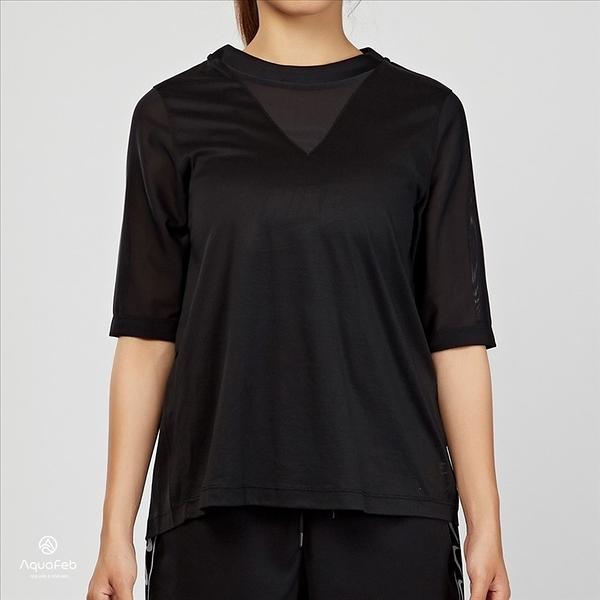 Nike Sportswear Top Bonded 女子 黑色 運動短袖 829756-010