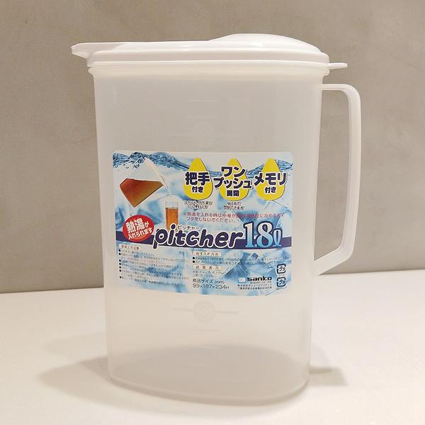 日本製冷水壺 pitcher 1.8L