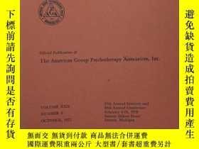 二手書博民逛書店INTERNATIONAL罕見JOURNAL OF GROUP PSYCHOTHERAPY(心理治療雜誌 1972
