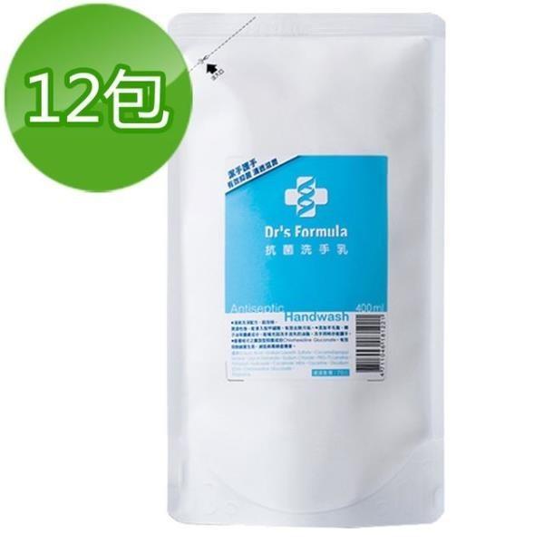 【南紡購物中心】《台塑生醫》Dr s Formula抗菌洗手乳補充包400ml(12包)