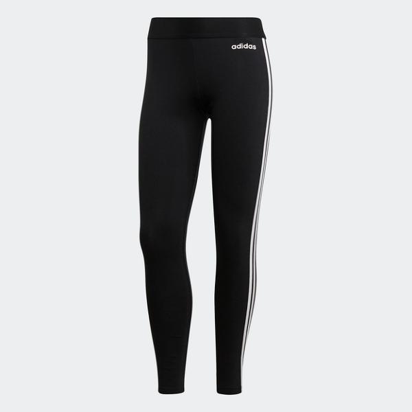 ADIDAS 緊身褲 ESSENTIALS 3 STRIPES TIGHT 束褲 內搭 運動 訓練 女 (布魯克林) DP2389