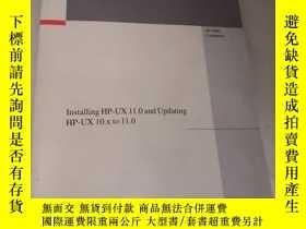 二手書博民逛書店installing罕見hp-ux 11.0 and updating hp-ux 10.x to 11.0Y