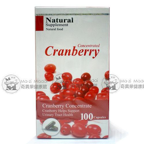 羅得複方蔓越莓膠囊100粒(蔓越莓萃取、嗜酸乳桿菌、排裝)