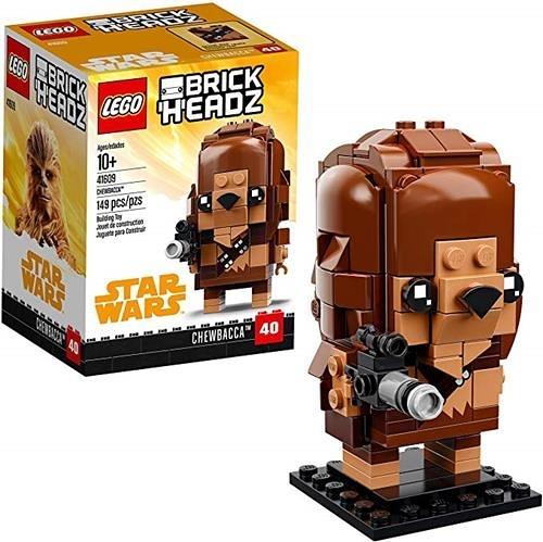 LEGO 樂高 BrickHeadz Chewbacca 41609 Building Kit (149 Piece)