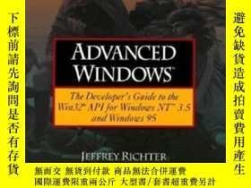 二手書博民逛書店Advanced罕見WindowsY364682 Jeffrey Richter Microsoft Pres
