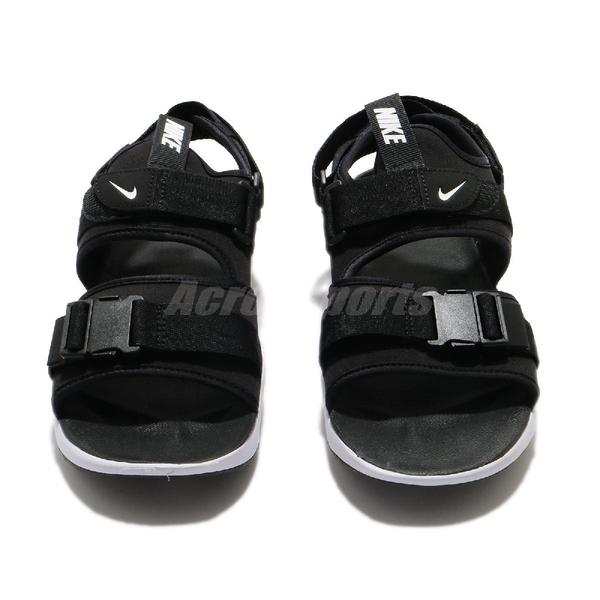Nike 涼拖鞋 Canyon Sandal 黑 白 男鞋 女鞋 運動涼鞋 【ACS】 CI8797-002