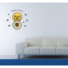 【收藏天地】RoomDeco*創意時鐘壁貼家飾-拉布拉多 /掛鐘 時鐘貼 居家 生活用品 時鐘 禮物