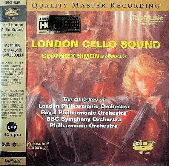 【停看聽音響唱片】【黑膠LP】倫敦40把大提琴之聲 (180克45轉LP)