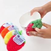韓國 第二代不沾油洗鍋布/洗碗巾/菜瓜布 一入 顏色隨機【YES 美妝】