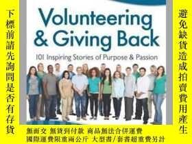 二手書博民逛書店Chicken罕見Soup for the Soul: Volunteering & Giving BackY