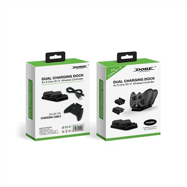 [哈GAME族]免運費 可刷卡 DOBE TYX-532X Xbox Series 手把雙座充(含二電池+四背蓋)
