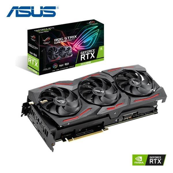 華碩ASUS ROG-STRIX-RTX2070S-A8G-GAMING 顯示卡
