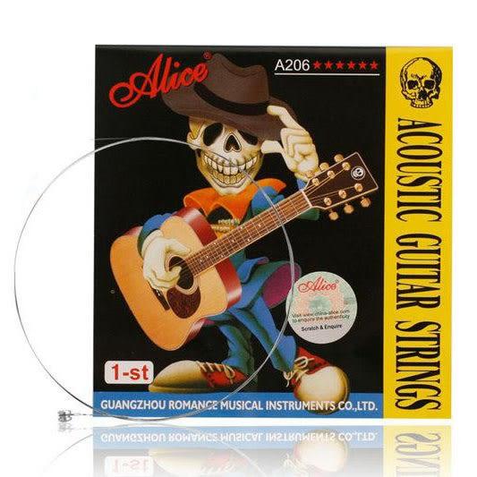 小叮噹的店- 木吉他弦 第一弦/E弦  ALICE A206-1 民謠吉他