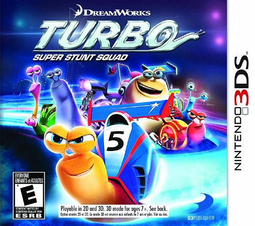 3DS Turbo: Super Stunt Squad 渦輪方程式:超級特技隊(美版代購)