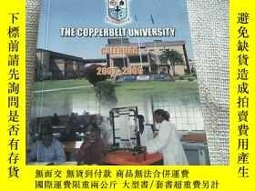 二手書博民逛書店THE罕見COPPERBELT UNIVERSITY CALENDAR 2007-2009Y156452 見圖
