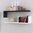 墻上置物架客廳墻壁掛墻面隔板擱臥室多層書架隔斷墻簡約現代裝飾