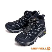 MERRELL MOAB 2 MID GORE-TEX防水登山多功能高筒 女鞋-黑(另有淺灰)