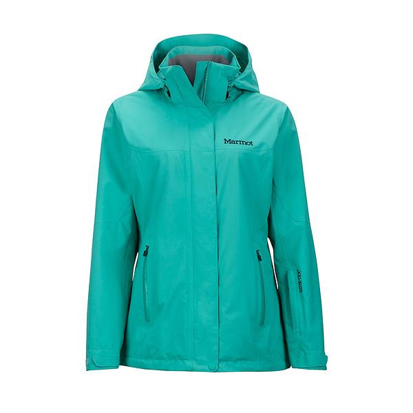 [Marmot] (女) Palisades GTX+羽絨兩件式防水保暖外套 湖水綠 (M35570-3799)