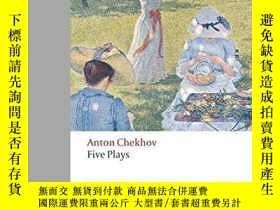 二手書博民逛書店Five罕見Plays: Ivanov, The Seagull
