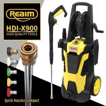 [ 家事達 ] 萊姆  感應馬達 高壓清洗機 HDI-X900 (長段槍全配組) 出水大bar數 汽車美容 高壓洗車機