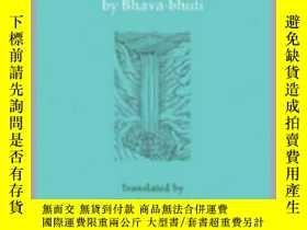 二手書博民逛書店[梵語英語]Rama s罕見Last Act by Bhavabhuti, trans. Sheldon Poll