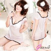 情趣用品- 睡衣專賣 Gaoria 純潔天使 透明情趣睡裙 情趣蕾絲內衣 N3-0024