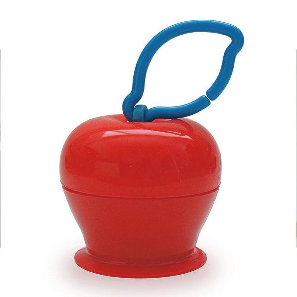 美國 Grapple 矽膠創意小物 三爪玩具俏吸盤-紅蘋果