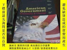 二手書博民逛書店AMERICAN罕見GOVERNMENT私藏有標註9837 ka