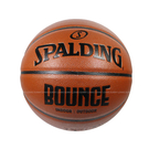 (C3)贈襪 SPALDING 斯伯丁 Bounce 合成皮籃球 PU 深溝 7號球 SPB91001 棕 [陽光樂活]
