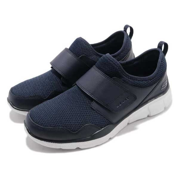 Skechers  Equalizer3.0 全黑皮革網布襪套黏帶 記憶鞋墊 男 52934BBK -SPEEDKOBE-