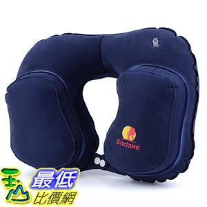 [美國直購] 航空坐飛機用頸枕睡枕枕頭 Andake A00101 Inflatable Pillow Suitable as Travel Pillow Great Gift