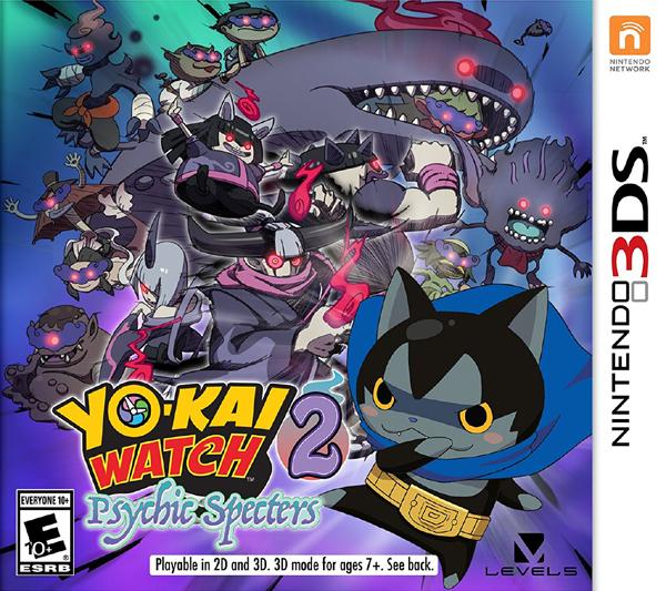 3DS 妖怪手錶 2 真打(美版代購)