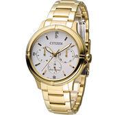 星辰 CITIZEN 光動能純靜之美時尚腕錶 FD2032-55A