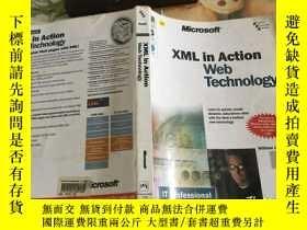 二手書博民逛書店XML罕見IN ACTION WEB TECHNOLOGY (附