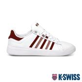 K-SWISS Pershing Court Light輕量時尚運動鞋-女-白/紅/粉紅