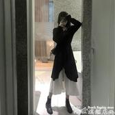 大碼連身裙 胖mm大碼女裝2020新款夏季法式顯瘦兩件套減齡洋氣連身裙子早春秋 7月特惠