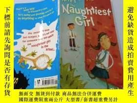 二手書博民逛書店Here s罕見The Naughtiest Girl:這是最淘氣的女孩Y200392
