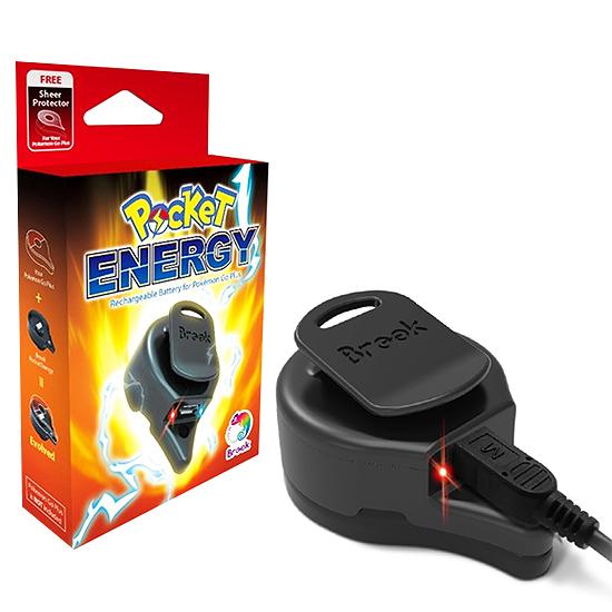 [哈GAME族]免運費 可刷卡●最佳抓寶夥伴●雲城 BROOK 抓寶手環USB充電電池底座 POCKET ENERGY