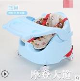 兒童座椅寶寶餐椅多功能可調節吃飯桌便攜式嬰幼兒餐桌可滑行椅子QM『摩登大道』