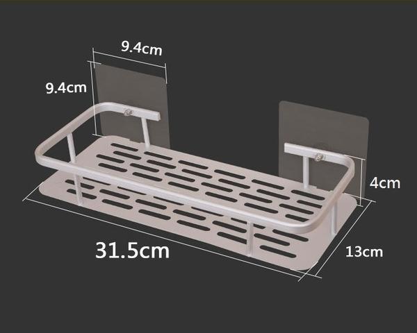 太空鋁廚衛瀝水收納置物架 免釘免鑽免打孔【AE04284】99愛買小舖