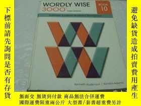 二手書博民逛書店WORDLY罕見WISE 3000 BOOK 10Y17081