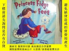 二手書博民逛書店PRINCESS罕見FIDGETY FEET (02)Y1808